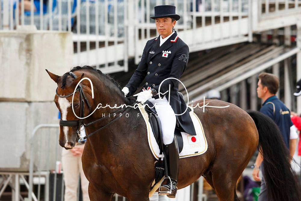 Hayashi Shingo, JPN, Exquis Clearwater<br /> World Equestrian Games - Tryon 2018<br /> © Hippo Foto - Sharon Vandeput<br /> 13/09/2018