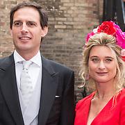 NLD/Den Haag/20190917 - Prinsjesdag 2019, Wopke Hoekstra en partner Liselot Hoornweg