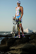 SUNSHINE COAST, AUSTRALIA - SEPTEMBER 14:  Australian triathlete Pete Jacobs poses during a portrait session on September 14, 2013 on the Sunshine Coast, Australia.  (Photo by Matt Roberts/Getty Images)