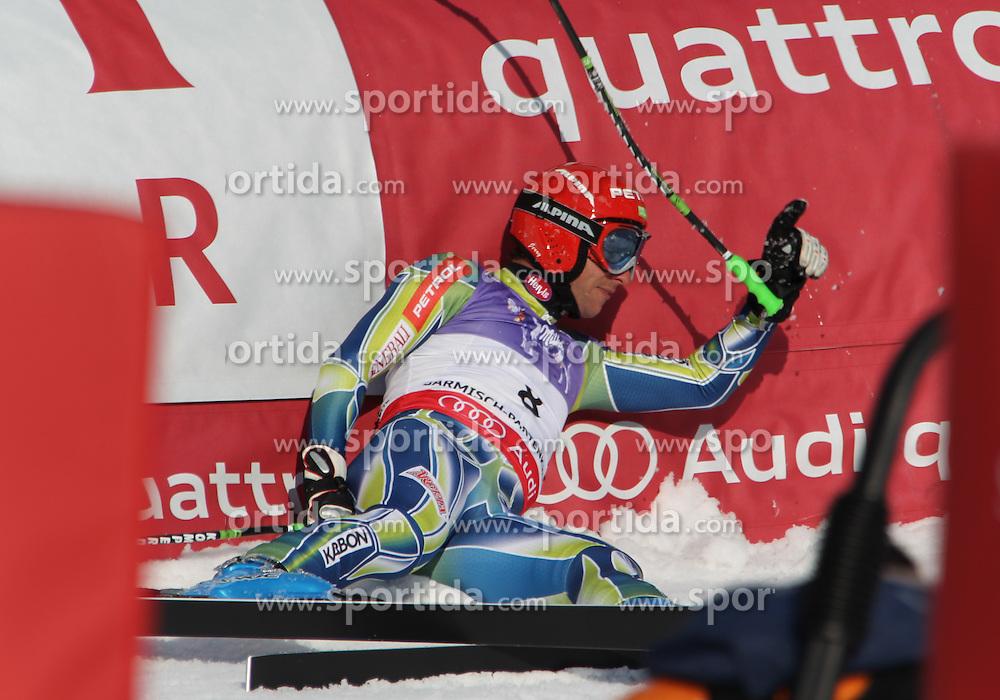 12/02/2011 GAP 2011 - FIS ALPINE WORLD SKI CHAMPIONSHIPS .JERMAN Andrej .© Photo Pierre Teyssot / Sportida.com.