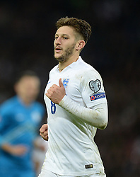 Adam Lallana of England (Liverpool) - Photo mandatory by-line: Alex James/JMP - Mobile: 07966 386802 - 15/11/2014 - SPORT - Football - London - Wembley - England v Slovenia - EURO 2016 Qualifier