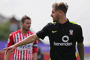 forward Jake Hyde during the Sky Bet League 2 match between Exeter City and York City at St James' Park, Exeter, England on 22 August 2015. Photo by Simon Davies.