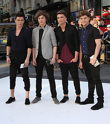 Union J during the International Film Premiere for Star Trek Into Darkness, The Empire Cinema, London, UK, on 02 May 2013, 03 May 2013. Photo by:  i-Images
