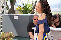 Actress Sasha Lane at the American Honey film photo call at the 69th Cannes Film Festival Sunday 15th May 2016, Cannes, France. Photography: Doreen Kennedy
