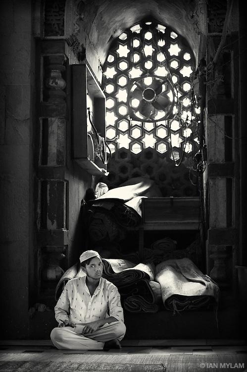 The Mosque at Nizamuddin - Old Delhi, India