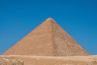 The Great Pyramid, Giza, Egypt.