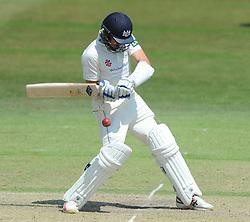 Jack Taylor of Gloucestershire bats  - Photo mandatory by-line: Dougie Allward/JMP - Mobile: 07966 386802 - 09/07/2015 - SPORT - Cricket - Cheltenham - Cheltenham College - LV=County Championship 2