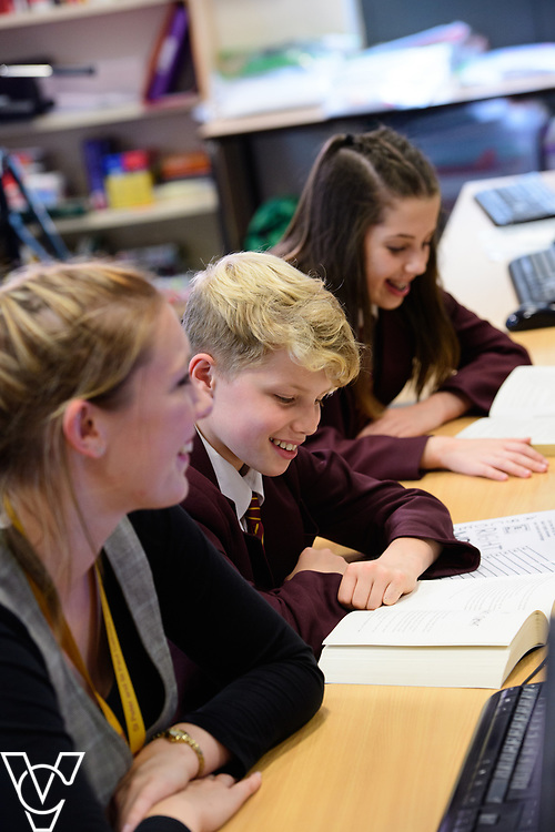 St Peter and St Paul Catholic Voluntary Academy prospectus images.<br /> <br /> Picture: Chris Vaughan Photography<br /> Date: June 29, 2017