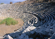Amphitheatre at Lycian city of Letoon, Turkey