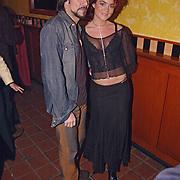 Uitreiking populariteitsprijs 2002, Spiros en Kim Lian van der Meij