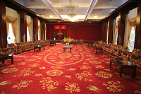 A state room within the Independence Place, Ho Chi Minh City, Vietnam.