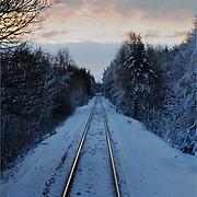 Rail Tracks, Scotland