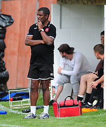 IAN BENJAMIN MANAGER  CORBY S&L, Corby S&L v Bugbrooke, Rockingham Road,  Saturday 12th August 2017