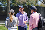 Justin Thomas greets particpants as he hosts the Strategic Communications/Justin Thomas Junior Championship presented by Phocus at Harmony Landing Country Club Friday, April 20, 2018, in Goshen, Ky. (Photo by Brian Bohannon)