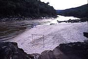 Vale do Jequitinhonha_MG, Brasil...Campo de futebol proximo ao Rio Jequitinhonha...The soccer field next to Jequitinhonha river...Foto: JOAO MARCOS ROSA / NITRO