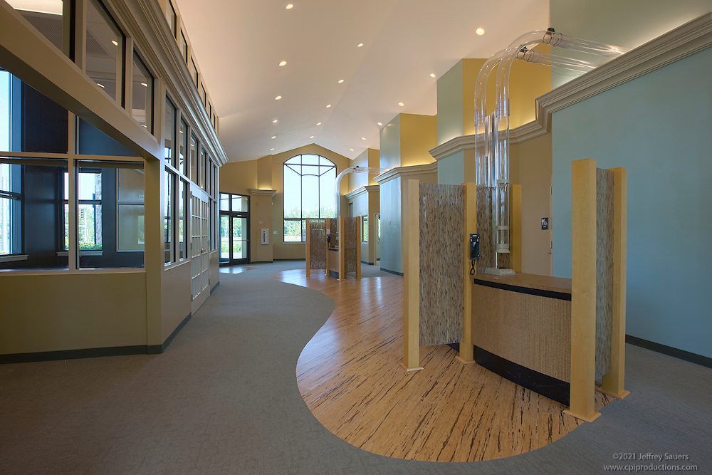 Architectural Interior image of the retail center at Baltimore Corssroads at 95