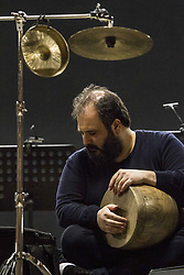 April 30, 2019 - Turin, Italy - Iranian tombak player Pedram Khavar Zamini is guest of 2019 Torino Jazz Festival (Credit Image: © Marco Destefanis/Pacific Press via ZUMA Wire)