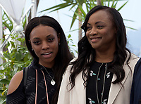 Producers Rayah Houston,  and Pat Houston, at the Whitney film photo call at the 71st Cannes Film Festival, Thursday 17th May 2018, Cannes, France. Photo credit: Doreen Kennedy
