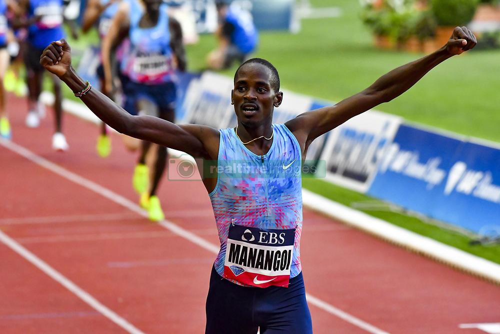 July 21, 2017 - France - Manangoi (Kenya) - 1500 metres hommes (Credit Image: © Panoramic via ZUMA Press)