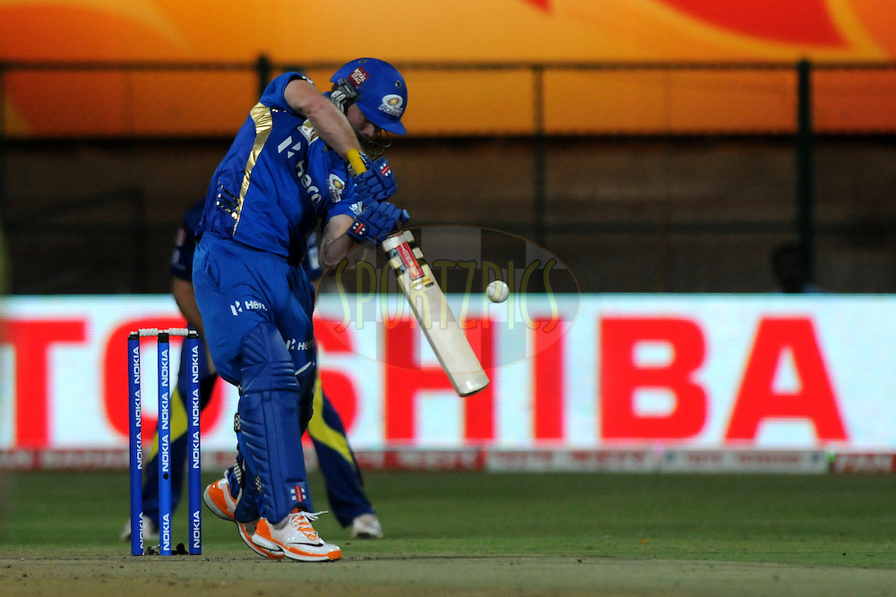 Aiden Blizzard of Mumbai Indians bats during match 11 of the NOKIA Champions League T20 ( CLT20 ) between the Mumbai Indians and The Cape Cobras held at the  M.Chinnaswamy Stadium in Bangalore , Karnataka, India on the 30th September 2011..Photo by Pal Pillai/BCCI/SPORTZPICS.