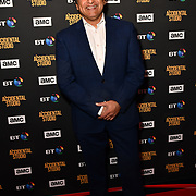Sanjeev Bhaskar Arrivers at Premiere of documentary about the British film production company, Handmade Films, created by George Harrison of the Beatles on 27 March 2019, London, UK.