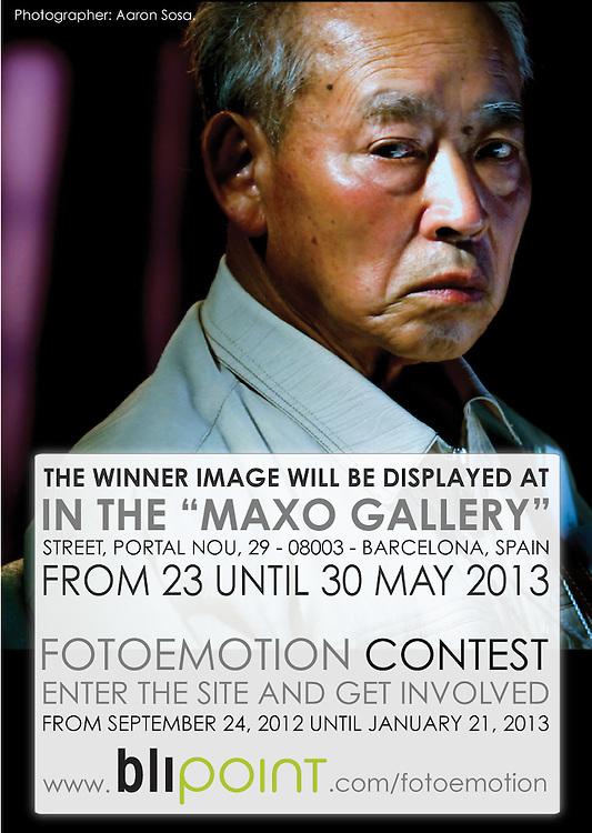 Imagen del Concurso FOTOEMOTION de Blipoint.<br /> 2012, A nivel mundial