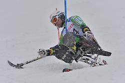 NATSUME Kenji LW11 JPN at 2018 World Para Alpine Skiing World Cup slalom, Veysonnaz, Switzerland