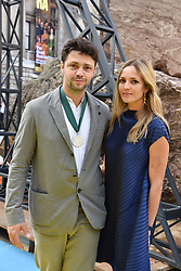 Conrad Shawcross and Carolina Mazzolari at the Royal Academy Of Arts Summer Exhibition Preview Party 2018 held at The Royal Academy, Burlington House, Piccadilly, London, England. 06 June 2018.