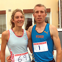 Eimear Martin-Power and Seamus Power defending their titles in Quilty on Sunday.