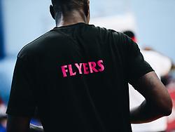Justin Gray of Bristol Flyers - Rogan/JMP - 16/11/2018 - BASKETBALL - SGS WISE Arena - Bristol, England - Bristol Flyers v Leicester Riders - BBL Championship.