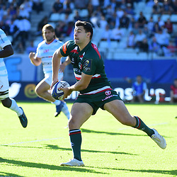 Ben Youngs of Leicester during the European Rugby Champions Cup match between Racing 92 and Leicester Tigers on October 14, 2017 in Colombes, France. (Photo by Dave Winter/Icon Sport)