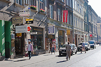 Ulica Szewska High Street in Krakow Poland