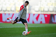 Poland's Robert Lewandowski while official training one day before international friendly match between Poland and Lithuania at PGE Arena in Gdansk, Poland.<br /> <br /> Poland, Gdansk, June 05, 2014<br /> <br /> Picture also available in RAW (NEF) or TIFF format on special request.<br /> <br /> For editorial use only. Any commercial or promotional use requires permission.<br /> <br /> Mandatory credit:<br /> Photo by © Adam Nurkiewicz / Mediasport