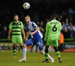 Bristol Rovers' Andy Monkhouse - Photo mandatory by-line: Dougie Allward/JMP - Mobile: 07966 386802 - 29/04/2015 - SPORT - Football - Nailsworth - The New Lawn - Forest Green Rovers v Bristol Rovers - Vanarama Football Conference