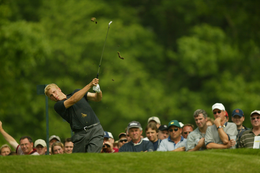 Ricky Barnes..2003 U.S. Open..Second Round..Olympia Fields CC..Chicago, IL..Friday June 13 2003..photograph by Darren Carroll
