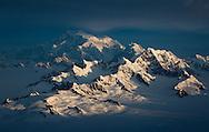 Canada's tallest mountain, Mount Logan.