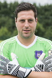 July 11, 2017 - Brussels, BELGIUM - Anderlecht's goalkeeper Frank Boeckx poses for photographer at the 2017-2018 season photo shoot of Belgian first league soccer team RSC Anderlecht, Tuesday 11 July 2017 in Brussels. BELGA PHOTO LAURIE DIEFFEMBACQ (Credit Image: © Laurie Dieffembacq/Belga via ZUMA Press)