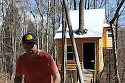 Four hours out of New York City, Morgan is back at The Root for another weekend. The Mayflower, another treehouse near completed, is situated across from Keohn's Cabin and reminds Morgan how much work there is left to do on his treehouse.