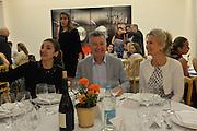FATIMA MALEKI; ALI  GURELI; LADY MYNERS; Dinner to celebrate the 10th Anniversary of Contemporary Istanbul Hosted at the Residence of Freda & Izak Uziyel, London. 23 June 2015