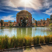 The Palace of Fine Arts in San Francisco, CA.