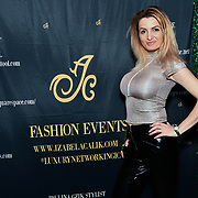 Olga is a model attend the Luxury Fashion Networking hosts at IC Show with X Factor Singers Fashio9n Show ahead of LFW Winter 2019 with amazing crowded at the heart of Soho, London, UK. 11 Feb 2019.