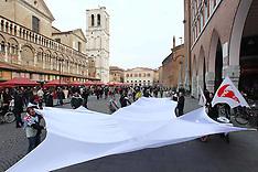 20130217 FLASH MOB IN PIAZZA TRENTO E TRIESTE DI FARE PER FERMARE IL DECLINO