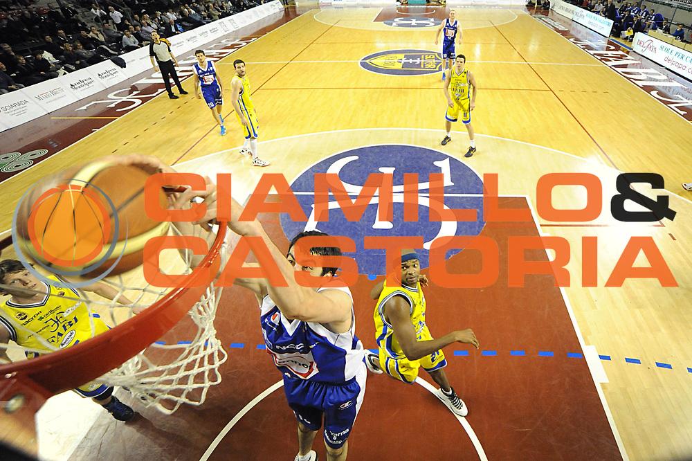 DESCRIZIONE : Ancona Lega A 2011-12 Fabi Shoes Montegranaro Bennet Cantu<br /> GIOCATORE : Giorgi Shermadini<br /> CATEGORIA : special schiacciata<br /> SQUADRA : Bennet Cantu<br /> EVENTO : Campionato Lega A 2011-2012<br /> GARA : Fabi Shoes Montegranaro Bennet Cantu<br /> DATA : 11/01/2012<br /> SPORT : Pallacanestro<br /> AUTORE : Agenzia Ciamillo-Castoria/C.De Massis<br /> Galleria : Lega Basket A 2011-2012<br /> Fotonotizia : Ancona Lega A 2011-12 Fabi Shoes Montegranaro Bennet Cantu<br /> Predefinita :