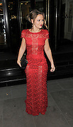 05.NOVEMBER.2012. LONDON<br /> <br /> KIMBERLEY WALSH LEAVING THE MUSIC INDUSTRY TRUSTS AWARD CEREMONY AT THE GROSVENOR HOUSE HOTEL IN MAYFAIR.<br /> <br /> BYLINE: EDBIMAGEARCHIVE.CO.UK<br /> <br /> *THIS IMAGE IS STRICTLY FOR UK NEWSPAPERS AND MAGAZINES ONLY*<br /> *FOR WORLD WIDE SALES AND WEB USE PLEASE CONTACT EDBIMAGEARCHIVE - 0208 954 5968*