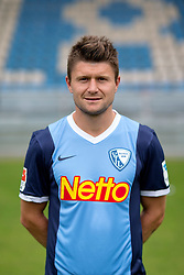 07.07.2015, Rewirpower Stadion, Bochum, GER, 2. FBL, VfL Bochum, Fototermin, im Bild Piotr Cwielong (Bochum) // during the official Team and Portrait Photoshoot of German 2nd Bundesliga Club VfL Bochum at the Rewirpower Stadion in Bochum, Germany on 2015/07/07. EXPA Pictures &copy; 2015, PhotoCredit: EXPA/ Eibner-Pressefoto/ Hommes<br /> <br /> *****ATTENTION - OUT of GER*****