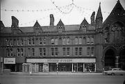 22/11/1964<br /> 11/22/1964<br /> 22 November 1964<br /> <br /> Exterior of Dunnes Stores on Georges St.