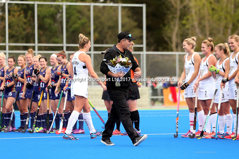 Women's International Hockey Test Black Sticks v USA, Waimakariri Hockey Stadium, Rangiora, New Zealand. Sunday, 26 March, 2017. Copyright Photo: Martin Hunter / www.photosport.nz