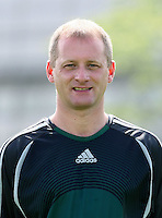 Fussball International U 17 WM Korea  Schiedsrichterassistenten Portraittermin Tom Murphy (SCO)