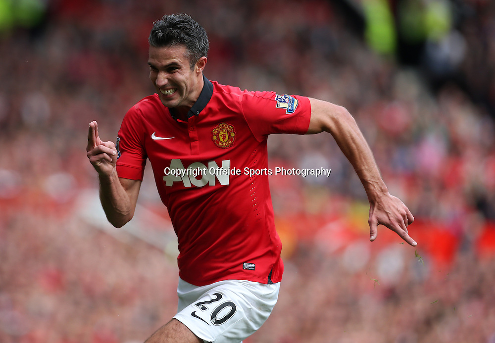 14th September 2013 - Barclays Premier League - Manchester United v Crystal Palace - Robin van Persie of Man Utd - Photo: Simon Stacpoole / Offside.