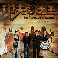 Press conference for 'The Forbidden Kingdom' in Hong Kong 2008